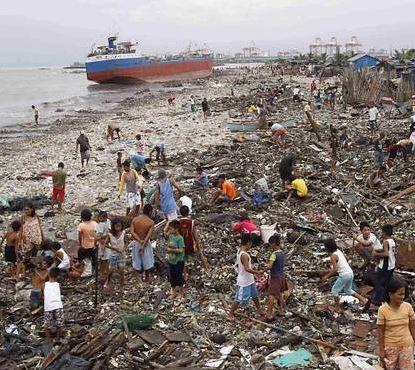 Agências humanitárias cristãs se mobilizam para ajudar vítimas de tufão nas Filipinas