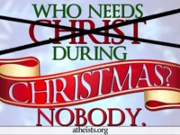"""Entidade ateísta lança campanha anti-cristã e diz que """"ninguém precisa de Jesus no Natal"""""""