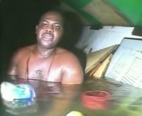 Imagens do milagre: veja vídeo do resgate do náufrago que passou 60 horas submerso clamando por Deus