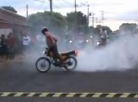 """Igreja promove """"arrancadão gospel"""" para motociclistas e evento termina em pancadaria; Assista"""