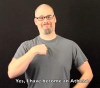 """Pastor da """"Igreja Virtual para Surdos"""" afirma que abandonou o cristianismo e que agora é ateu"""