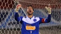 """Fábio, goleiro do Cruzeiro, visita Bruno na prisão """"para falar de Deus"""" e diz que colega está """"tranquilo"""""""