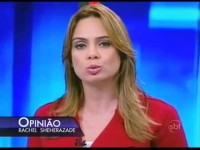 """Rachel Scheherazade diz que PSOL e PCdoB fizeram """"pressão"""" para silenciá-la: """"Chantagearam o SBT"""""""
