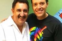 """André Valadão participa do """"Boteco do Ratinho"""", e o apresentador afirma: """"Quem a gente está convidando e não vem é aquele povo do Diante do Trono"""""""