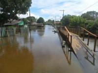 Pastor lidera trabalhos voluntários para auxiliar desabrigados pela cheia do rio Madeira, em Rondônia; Chuva castiga o estado há mais de um mês