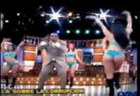 Pastor causa polêmica ao aparecer em programa de TV cantando ao lado de dançarinas de biquíni