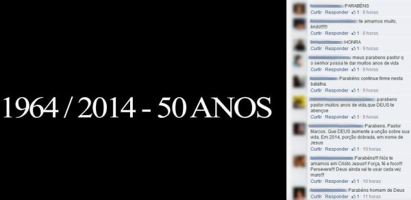 seguidores-feliciano-ditadura-aniversário
