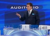 """Silvio Santos ironiza novo megatemplo da Igreja Universal: """"O Edir Macedo me contratou para ser o Salomão do templo""""; Assista"""