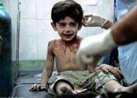 """""""Quando eu morrer, vou contar tudo a Deus"""", afirma criança vítima da guerra na Síria"""