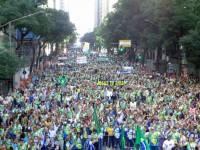 Marcha Para Jesus no Rio de Janeiro foi marcada por discursos de paz e contra perseguição a evangélicos; Veja vídeo e fotos