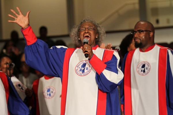 mama mosie burks - mcdonalds gospel tour