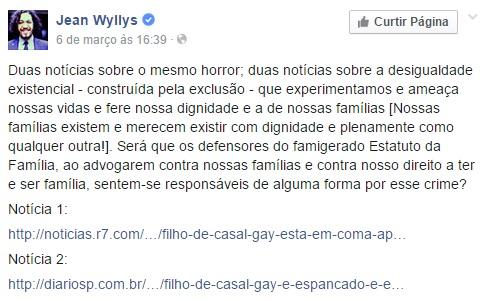 jean wyllys - facebook