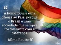 homofobia - dilma rousseff