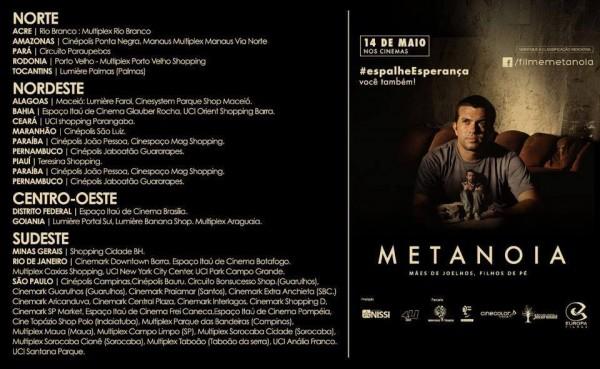 metanoia em cartaz