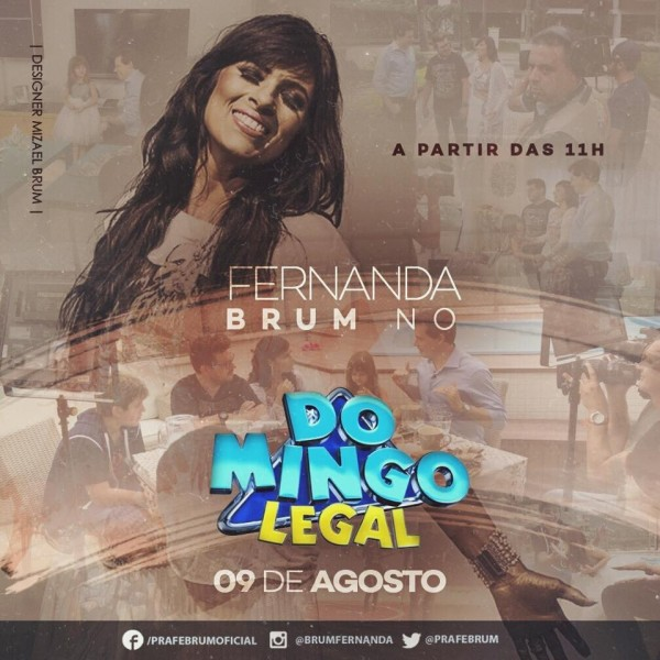 fernanda brum - domingo legal