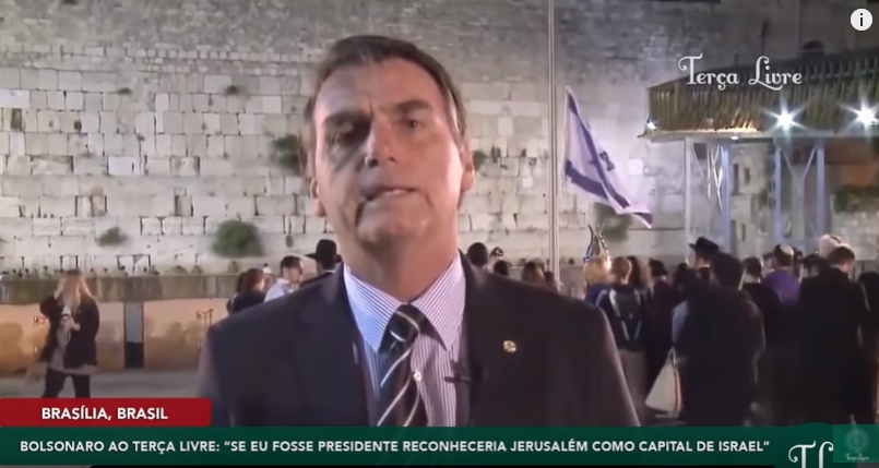 Resultado de imagem para bolsonaro israel