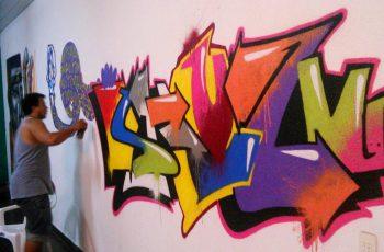"""Grafiteiro do Rio usa arte para evangelizar: """"É tudo para a glória de Deus e para falar do amor Dele"""""""