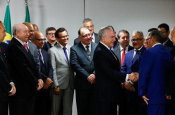Líderes da Assembleia de Deus participam de café da manhã com Michel Temer, em Brasília