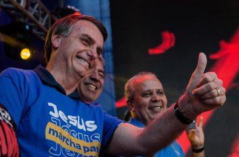 """Bolsonaro na Marcha para Jesus: """"Que o Senhor abençoe e proteja as nossas famílias"""""""