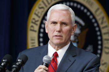 """Vice-presidente dos EUA elogia cristãos e pede """"orações eficazes e fervorosas"""""""