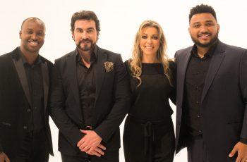 Eli Soares grava música 'Sara Brasil' ao lado dos católicos Adriana Arydes, Thiago e padre Fábio de Melo
