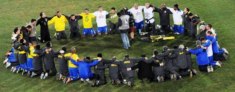 316ab1d575 CBF proíbe jogadores da Seleção de expressarem fé nas comemorações