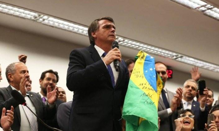 Resultado de imagem para Bancada evangélica da apoio a Bolsonaro