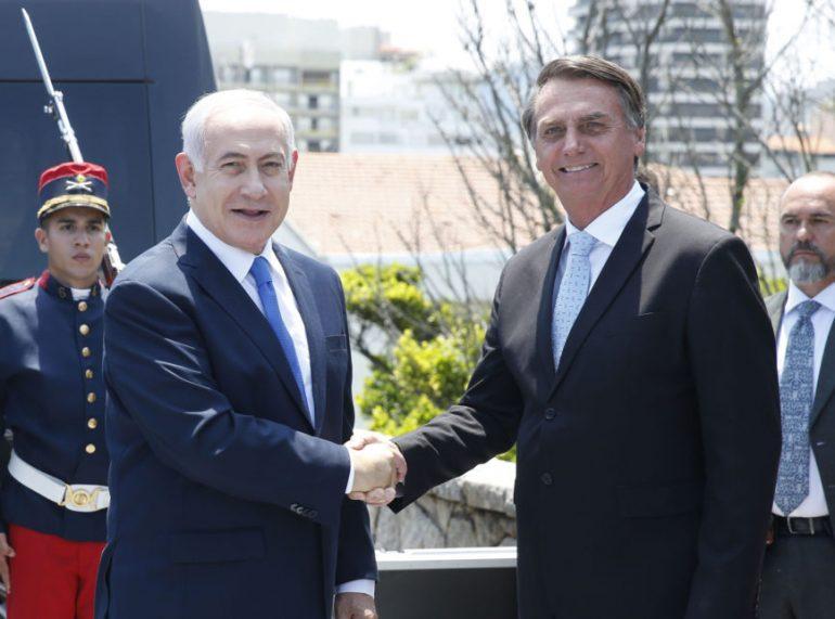 """Netanyahu elogia evangélicos e diz que fará """"aliança de irmandade"""" com o Brasil"""