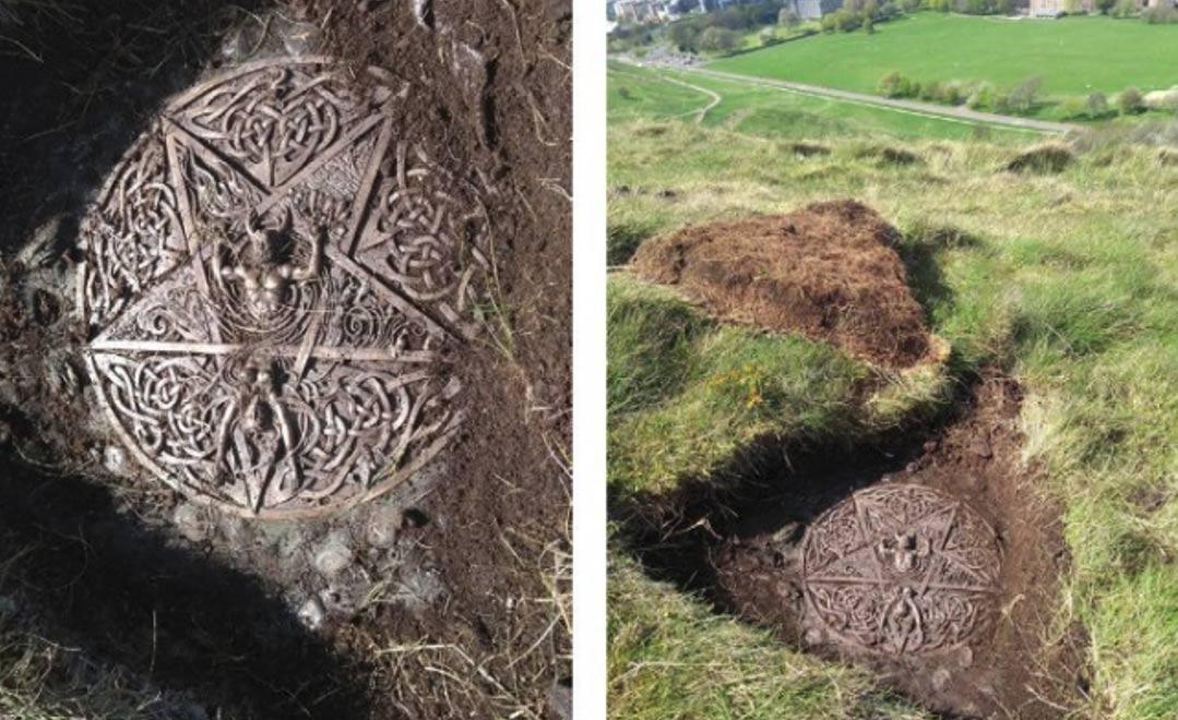 Símbolos do satanismo são encontrados no Palácio Real da Escócia