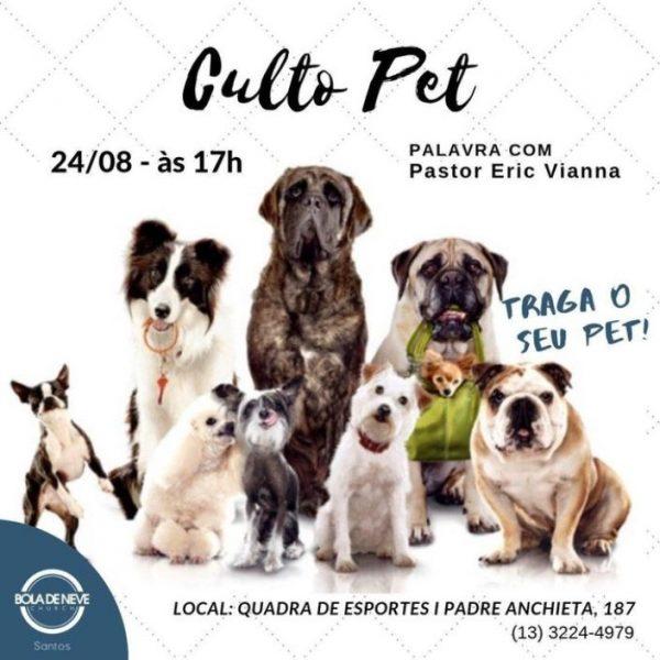 """Igreja Bola de Neve vira chacota nas redes sociais ao anunciar """"culto pet"""""""