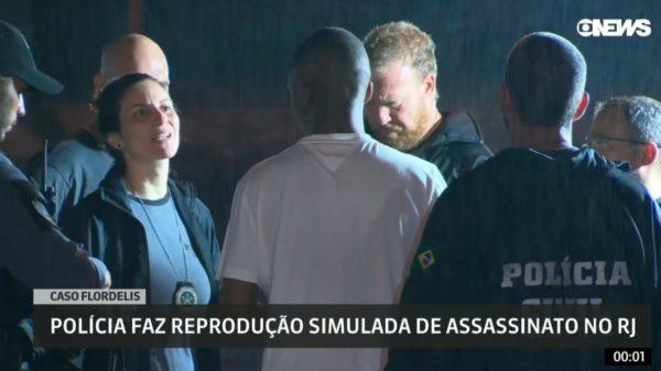 Flordelis participa de reconstituição do assassinato de seu marido; Delegada vê contradições