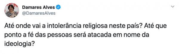 """Em crítica a Damares Alves, juíza diz que atuação social de evangélicos é uma """"desgraça"""""""