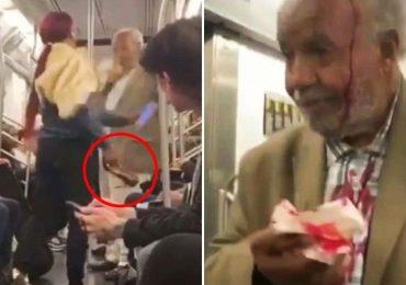 Resultado de imagem para Urgente Idoso evangelista é violentamente agredido por pregar a Palavra no metrô