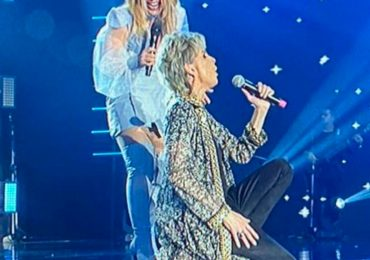Ludmila Ferber participa da gravação do DVD de 25 anos de carreira de Joelma