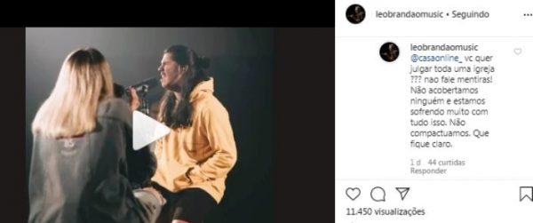 Instagram Leo Brandão