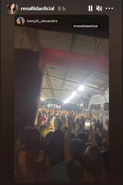 Autoridades interrompem culto de inauguração da igreja de Renallida por aglomeração